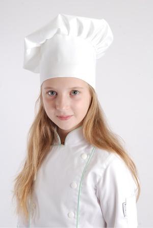 Dětská kuchařská čepice