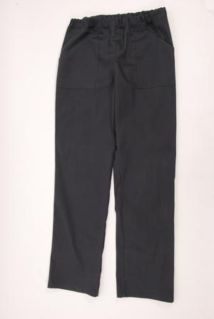 Kuchařské pánské kalhoty černé