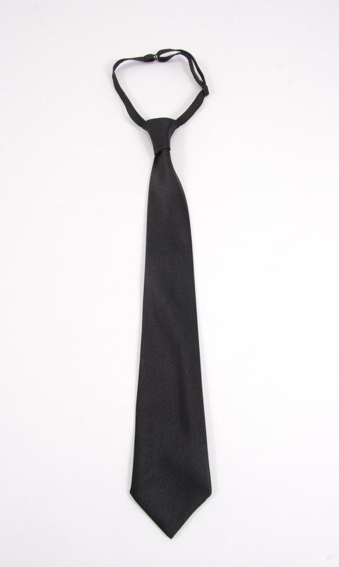 Kravata černá na šňůrku
