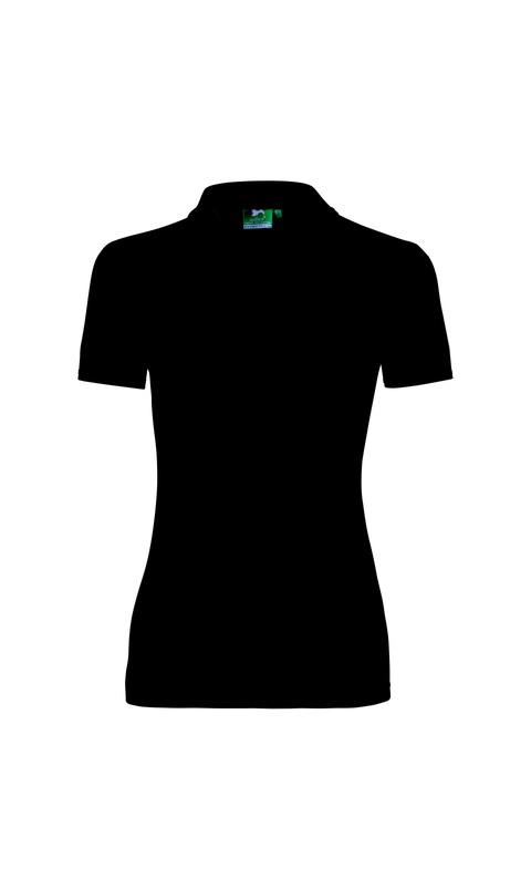 Polokošile dámská PIQUE POLO černá
