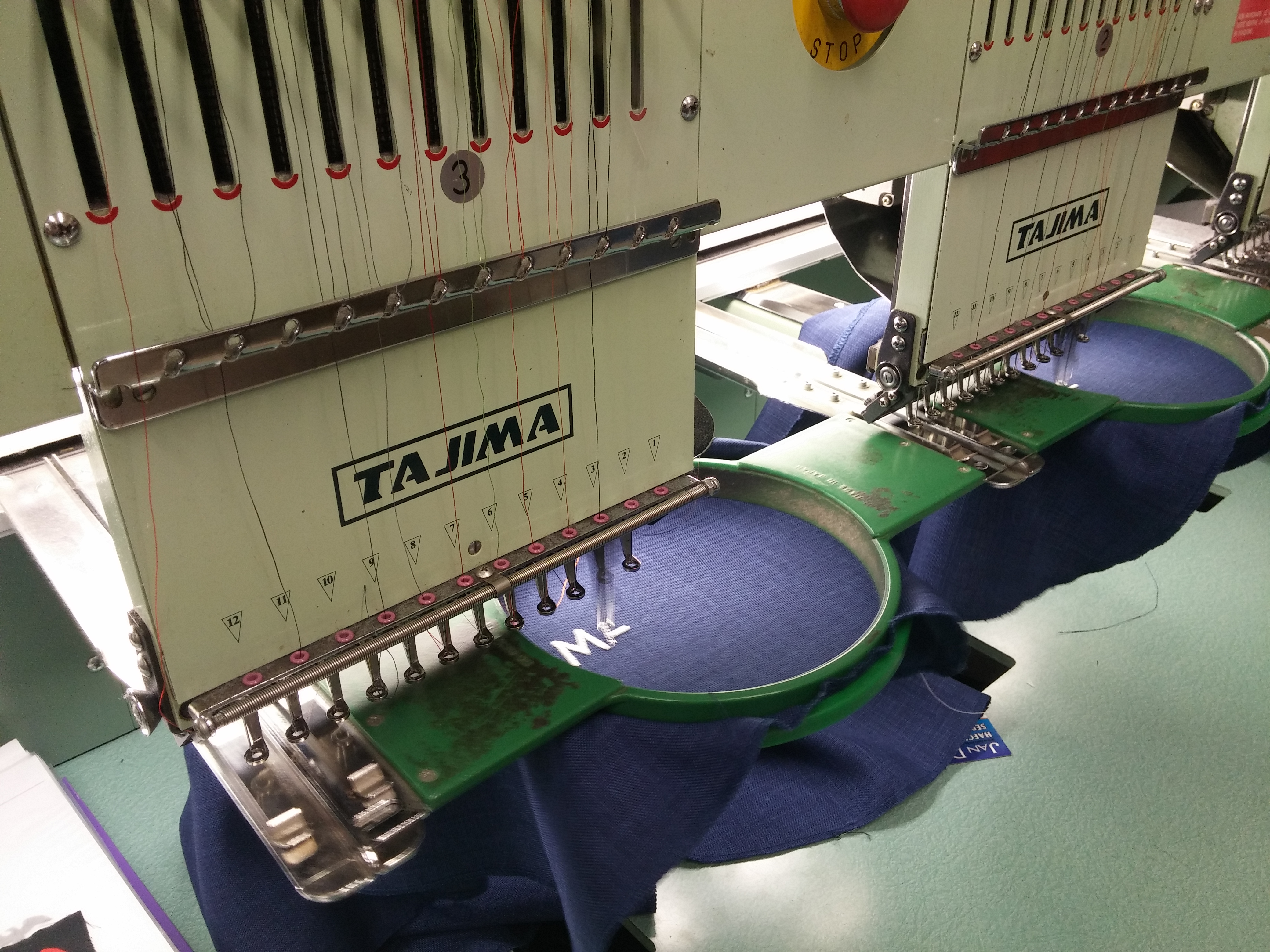 Vyrábíme originální a trvanlivé výšivky
